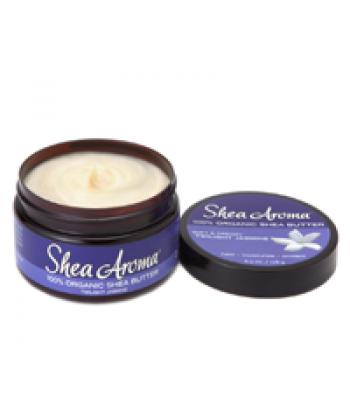 SHEA AROMA: 100% PURE WHIPPED SHEA BUTTER: TWILIGHT JASMINE