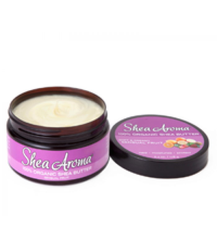 SHEA AROMA: 100% PURE NATURAL WHIPPED SHEA BUTTER: SENSUAL FRUIT