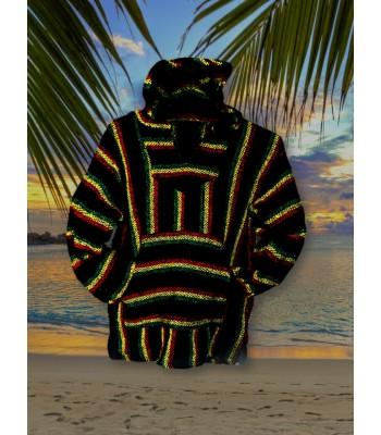 Rastafaria Poncho Sweater