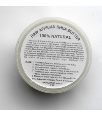 Raw African Shea Butter Cream (Ivory)