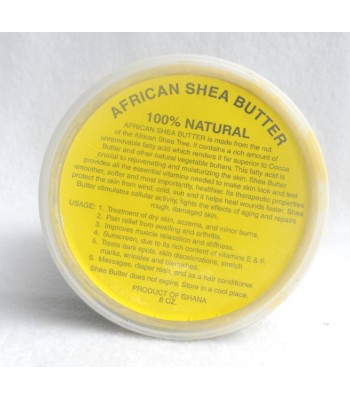 Raw Pure African Shea Butter cream (yellow)