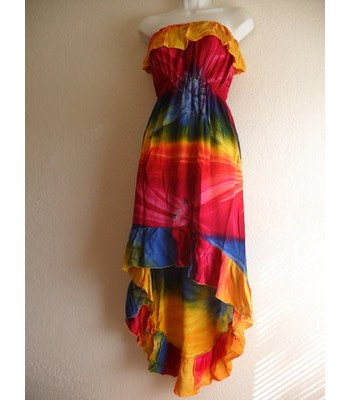 Tie-Dye Flamenco Dress
